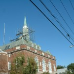 Concord City Hall Steeple Staging Turnstone Corporation