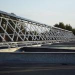 Solar Frame and Racks at LEDU